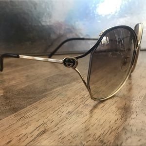 Supa Fly Authentic Gold Gucci Sunglasses